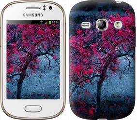 """Чехол на Samsung Galaxy Fame S6810 Дерево с яркими листьями """"2942c-254-328"""""""