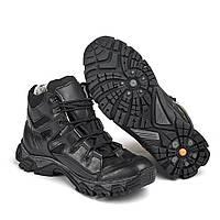 Тактические ботинки черные размерный ряд 36-46