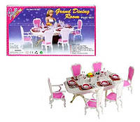 Мебель для кукол Столовая 2312 GLORIA