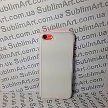 Чехол для 2D сублимации пластиковый Iphone 5C белый, фото 3