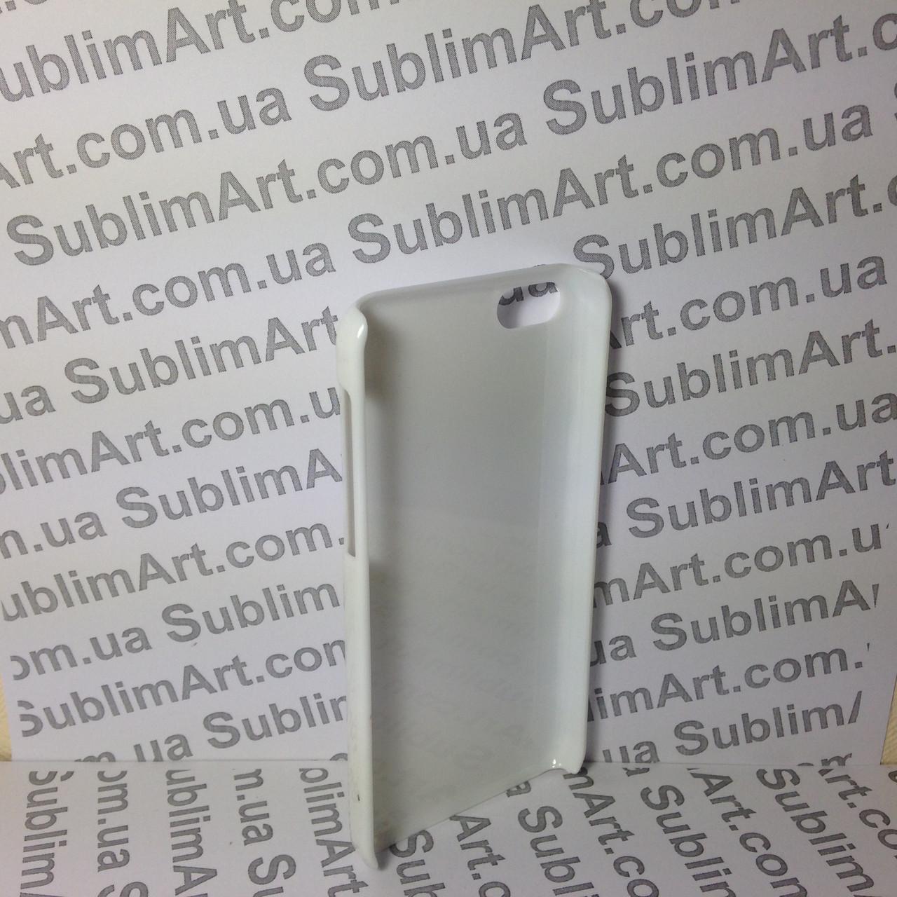 Чехол для 2D сублимации пластиковый Iphone 5C белый