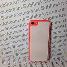 Чехол для 2D сублимации пластиковый Iphone 5C прозрачный, фото 3