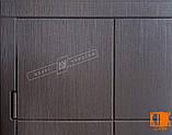 """Входная дверь в квартиру """"Кейс"""" серии """"Белорусский стандарт"""" (Венге южное МВР 1998-10), фото 4"""
