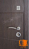 """Входная дверь в квартиру """"Кейс"""" серии """"Белорусский стандарт"""" (Венге южное МВР 1998-10), фото 2"""