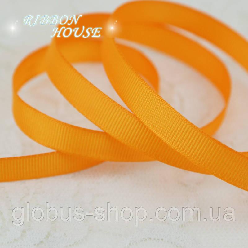 Репс 0,6  см Цвет оранжевый