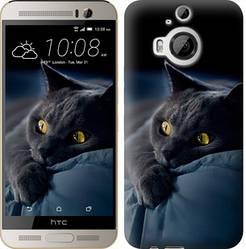 "Чехол на HTC One M9 Plus Дымчатый кот ""825c-134-328"""