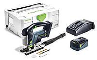 Аккумуляторный маятниковый лобзик CARVEX PSBC 420 Li 5,2 EB-Plus Festool 201380, фото 1