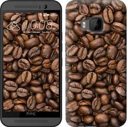 """Чехол на HTC One M9 Зёрна кофе """"783c-129-328"""""""