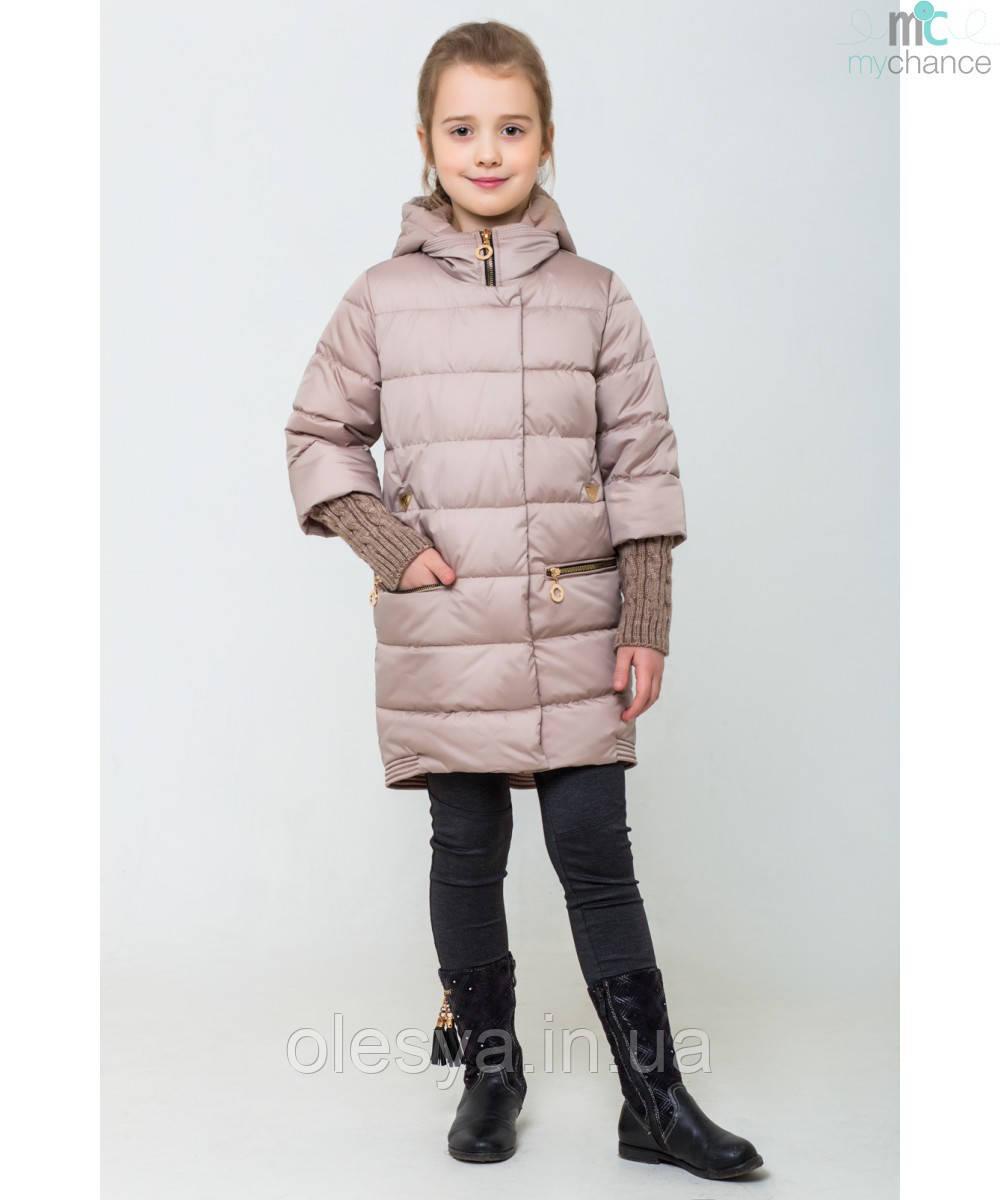 Демисезонная курточка на девочку Юлианна Размер 128