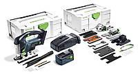 Аккумуляторный маятниковый лобзик CARVEX PSBC 420 Li 5,2 EBI-Set Festool 575741, фото 1