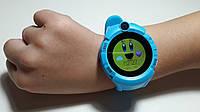 Детские смарт часы Smart Baby watch Q360 с GPS трекером (синие)