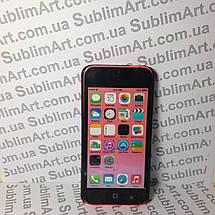 Чехол для 2D сублимации пластиковый Iphone 5C черный, фото 2