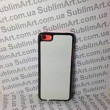 Чехол для 2D сублимации пластиковый Iphone 5C черный, фото 3