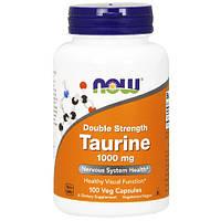 Аминокислота Таурин Now Foods Taurine 1000 мг (100 капсул)