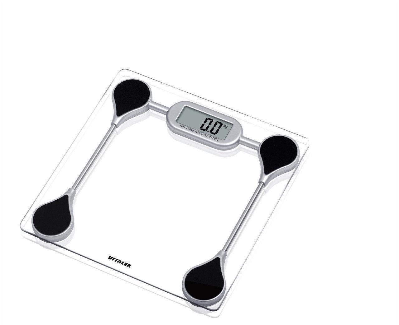 Весы напольные Vitalex VT-200, весы электронные, весы напольные электронные до 150 кг