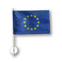 Флажок (прапорець) Евросоюза в машину