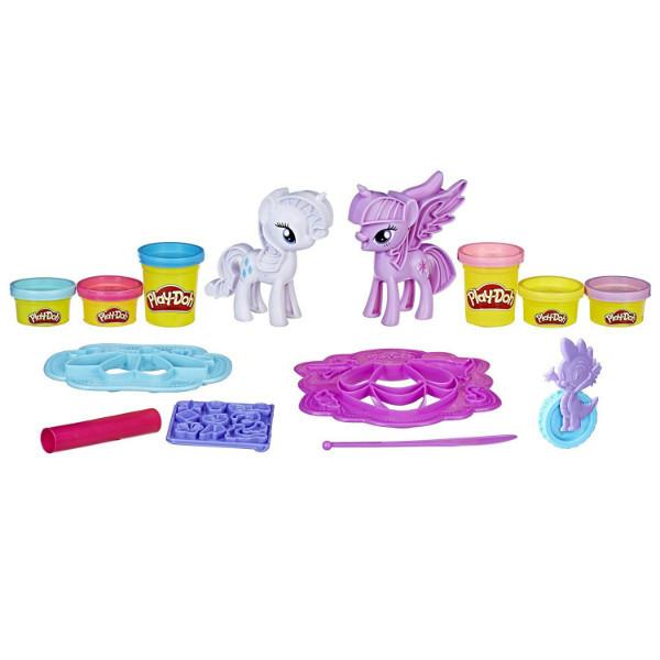 Play-Doh My Little Pony Пони Рарити и Твайлайт Princess Twilight Sparkle Rarity Fashion Fun