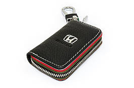 Ключница Carss с логотипом HONDA 08006 черная