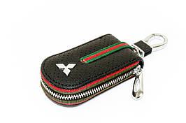 Ключница Carss с логотипом MITSUBISHI 11007 черная