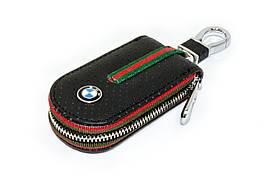 Ключница Carss с логотипом BMW 12007 черная