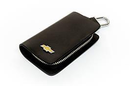 Ключница Carss с логотипом CHEVROLET 14002 черная