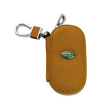 Ключница Carss с логотипом LAND ROVER 15001 коричневая