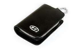 Ключница Carss с логотипом HYUNDAI 10002 черная