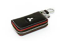 Ключница Carss с логотипом MITSUBISHI 11006 черная