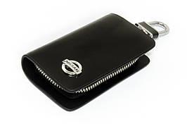 Ключница Carss с логотипом NISSAN 09002 черная