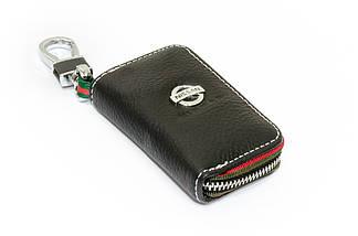 Ключниця Carss з логотипом NISSAN 09006 чорна, фото 2