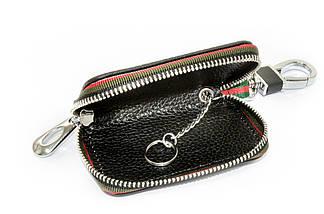 Ключниця Carss з логотипом NISSAN 09006 чорна, фото 3