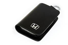 Ключница Carss с логотипом HONDA 08002 черная