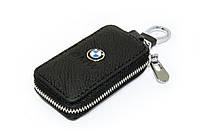 Ключница Carss с логотипом BMW 12004 черная