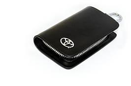 Ключница Carss с логотипом TOYOTA 07002 черная