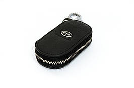 Ключница Carss с логотипом KIA 05003 черная