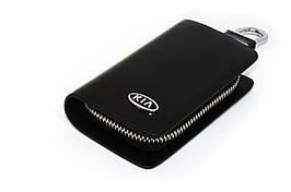 Ключница Carss с логотипом KIA 05002 черная