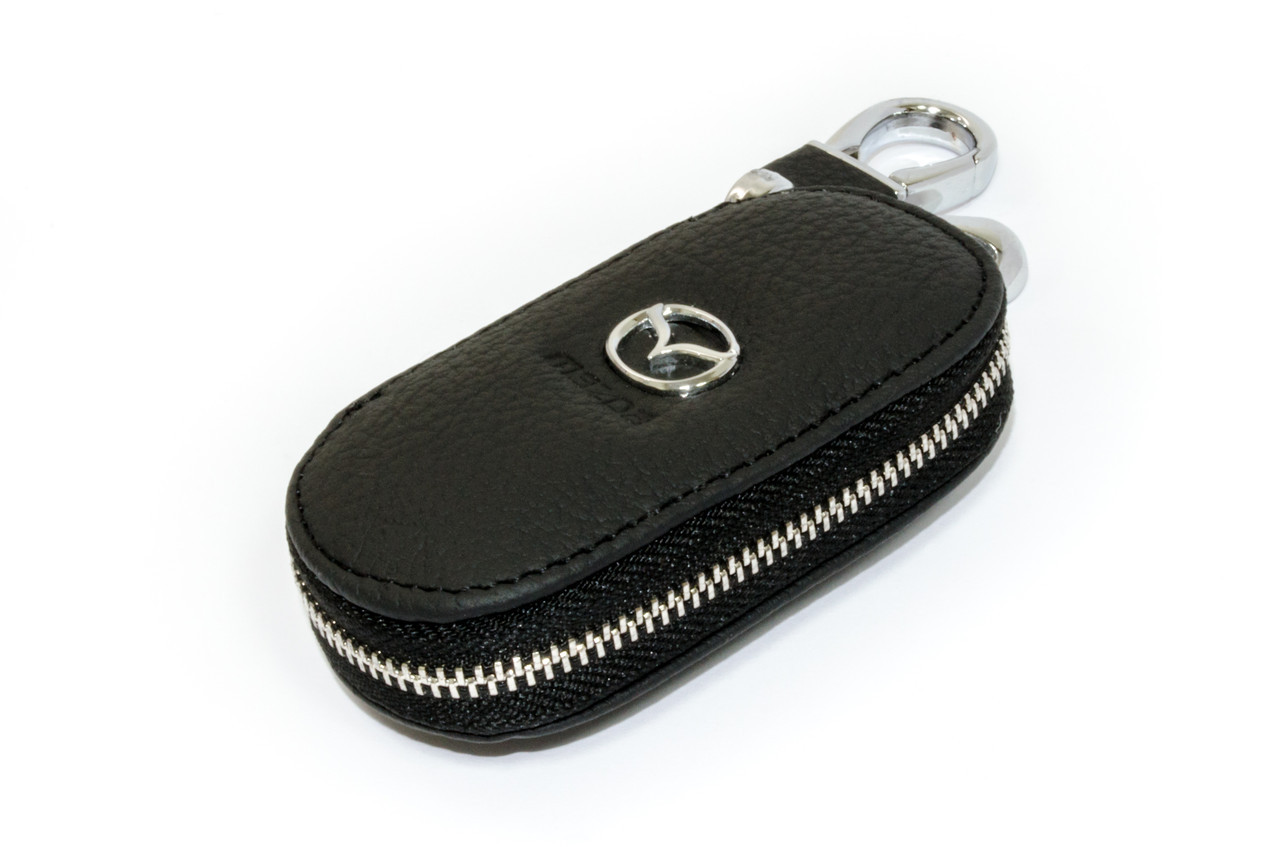 Ключница Carss с логотипом MAZDA 16003 черная