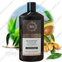 Шампунь с маслом Марокканского Аргана для сухих волос 500 мл