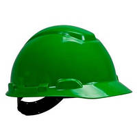 Каска 3М H-701C-GP  Зеленая, штифтовая застежка