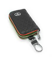 Ключница Carss с логотипом TOYOTA 07009 черная, фото 2