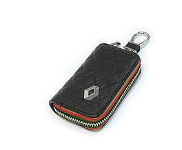 Ключница Carss с логотипом RENAULT 20009 черная