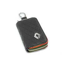 Ключница Carss с логотипом RENAULT 20009 черная, фото 2