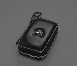 Ключница Carss с логотипом CITROEN 17011 черная