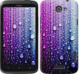 """Чехол на HTC One X+ Капли воды """"3351c-69-328"""""""