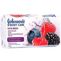 Мыло Johnson's Baby Care Vita Rich С экстрактом малины 125 г