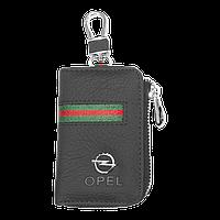 Ключница Carss с логотипом OPEL 18012 многофункциональная черная