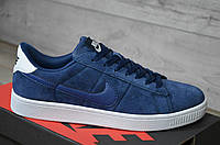 Кроссовки мужские Nike SB код товара SP-1129 Материал замша,подошва резина. Синие