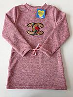 Детское платье-туника с паетками