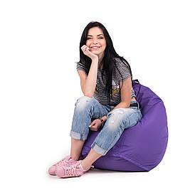 Кресло мешок груша L   ткань Oxford фиолетовый