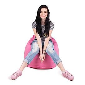 Кресло мешок груша L   ткань Oxford розовый